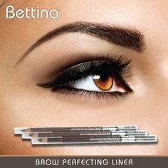 Puedes cambiar tu mirada con sólo acentuar tus cejas... para esto, tenemos el #Bettina Brow Perfecting Liner... disponible en tres tonalidades.