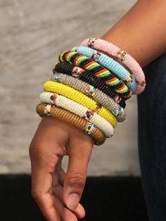 DIY beaded bracelet inspiration