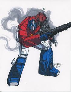 Transformers Optimus, Optimus Prime, Dark Fantasy Art, Cool Art, Character Design, Superhero, Cool Stuff, Cute, Artwork