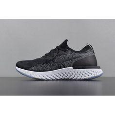 new concept c59e7 7bb6e Comprar Unisex Nike Epic React Flyknit Negro Blanco Zapatos para correr  AQ0067 001 - Nike Epic