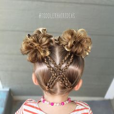 See this Instagram photo by @toddlerhairideas • 560 likes
