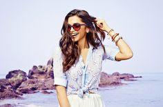 Ищете вдохновение или модные идеи для создания новых образов  Летние луки,  дополненные солнцезащитными очками, — уже в блоге OptiX.su  ) 5419838239d