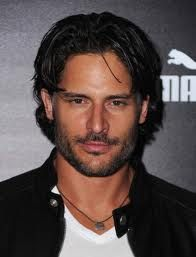 Joe Manganiello.  Tall, dark, handsome and I could run my hands up and down his abs all day.
