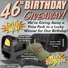 MidSouth's 46 Birthday GIVEAWAY!
