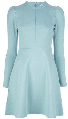 carven Jersey Dress - Lyst