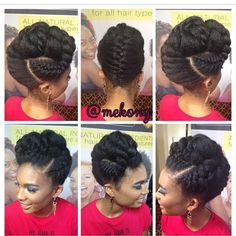 By Chinwe ofHair and Health The hair styles naturals manage to create never cease to amaze me, from intricately braided looks to simple and sweet. Here are ten gorgeous updos featuring French bra…