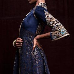 68 Ideas for wedding gowns indian anarkali Look Fashion, High Fashion, Womens Fashion, Fashion Design, Fashion Images, Indian Fashion, Mode Vintage, Mode Inspiration, Ravenclaw
