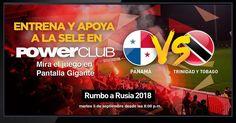 Apoya a tu Selección  entrando en @powerclubpanama disfruta el juego en Pantalla Gigante en Sucursales #viaargentina #soho #12deoctubre  #YoEntrenoEnPowerClub