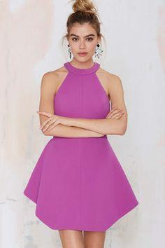 Keepsake To the End Cutaway Dress