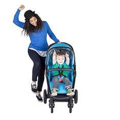 Phil and Teds Full-size Stroller Cranesbill Cyan (Blue) Best Double Pram, Double Prams, Best Lightweight Stroller, Phil And Teds, Cyan Blue, Baby Strollers, Newborns, Graphite, Children