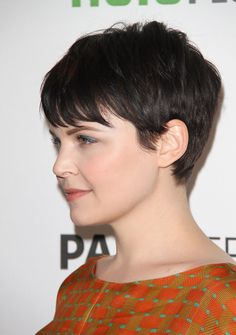 ginnifer goodwin hair | Ginnifer Goodwin at Once Upon a Time at the Paley Center for Media in ...