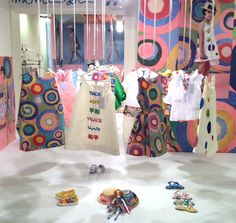 Circle multiple colour shaded prints at Mimisol for kids fashion spring 2016 at Pitti Bimbo