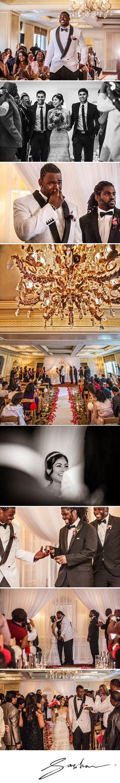The ceremony in the Ritz Carlton Terrace Room.