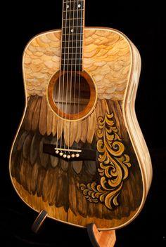 Hand Painted Guitars, Ukuleles, Lichty Guitars-17   Flickr - Photo Sharing!
