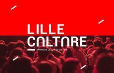 Lille Culture - Identité visuelle on Behance. graphiste Devred Clara