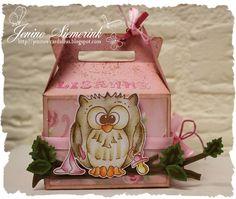 Jenine's Card Ideas: Gable box - Lisanne