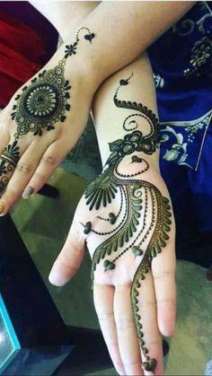All Mehndi Design, Mehndi Designs For Kids, Finger Henna Designs, Mehndi Designs Feet, Mehndi Designs Book, Modern Mehndi Designs, Mehndi Designs For Beginners, Beautiful Henna Designs, Mehndi Designs For Fingers