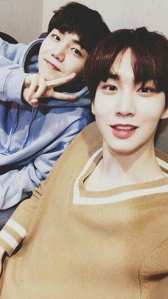 PENTAGON ShinWon and JinHo