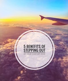 We've all seen one or two inspirational quotes encouraging us to step out of our comfort zone. It tends to be a picture of the sun setting over a beautiful Pictures Of The Sun, Stepping Out, Comfort Zone, Beautiful Images, Roads, The Borrowers, Airplane View, Benefit, Infographic
