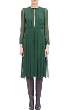 Knife-Pleated Dress