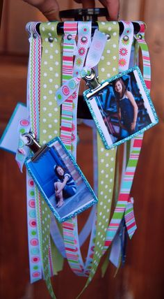 Decor Locker Decorations Ideas With A Ribbon Hanger Which Consists Of Many Colors And Many Motives Also There Are Some Photos The Fun yet Artsy Locker Decorations Ideas for Girls