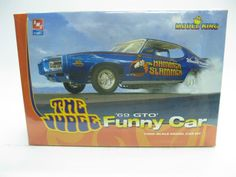 AMT THE JUDGE FUNNY CAR 1969 PONTIAC GTO FACTORY SEALED MODEL KIT 21891P NEW! #AMT
