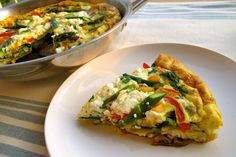 Very Veggie Frittata - Wheat, Gluten, Sugar and Dairy Free