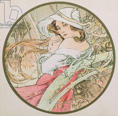 November, 1899 (colour litho) (detail of 176376)