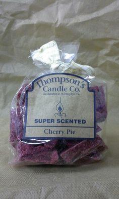 Cherry pie crumble