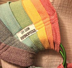 """Girasol Ring Sling Conversion - Mine is the """"exclusive iridescent yellow"""" color"""