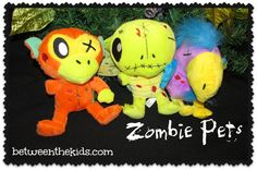 Zombie Pets Review by Between the Kids!