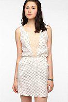 Johann Earl for Urban Renewal Lace-Inset Dress  #UrbanOutfitters