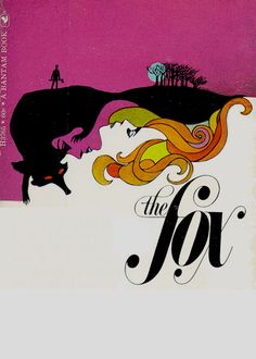 """leo & diane dillon's cover for d.h. lawrence's """"the fox"""" -- just saved my copy of this from a box in the garage..."""