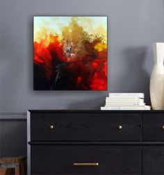 SALE of the Month.Unique Fluid Huge Abstract by IgorTurovskiyArt