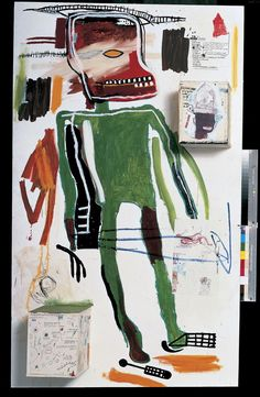Scull, 1981 by Jean-Michel Basquiat. Neo-Expressionism. figurative. Broad Collection, Los Angeles, USA