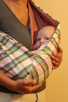 #BABY #SLING Great form-fitting design!  I know someone who has one and they adore it!!  From whatmelissamade.etsy.com