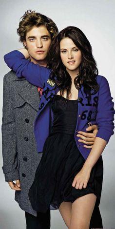 Robert Pattinson and Kristen Stewart.....