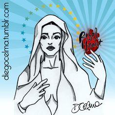 ✨MADONNA IS MY HOMEGIRL✨ Happy Birthday Madonna!!! #Madonna #QueenOfPop #happybirthday #HBD #illustration #art #fanart #drawing #sketch #sketching #inkdrawing #mixedmedia #icon #pop #singer #diva #muse #inspiration #RebelHeart #Holy #Mary #FullOfGrace #symbolisms #sacredheart #catholic #handdrawn #popicon https://www.facebook.com/diegocelmailustrador/