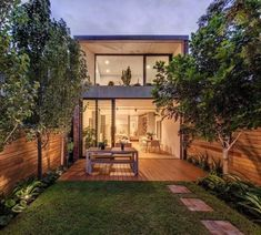 CO-AP is expanding the terraced house in Sydney with a modern extension made of concrete and glass S Minimalist House Design, Small House Design, Minimalist Home, Modern House Design, Loft Design, Architecture Design Concept, Modern Architecture, Future House, Glass Extension