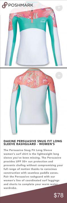 26b5cba155 Dakine Waikiki Rashguard and Surf Shorts size XS Brand new in bags Both  size xsmall Dakine