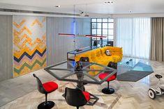 Apartamento com decoração inspirada em Star Wars - limaonagua