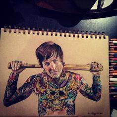 #Illustration : #Tattoo by #AndrewWilson