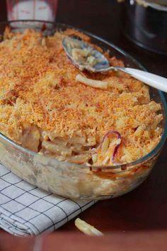 Gratin de pâtes façon Mac'n'Cheese
