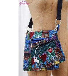 How To Sew A Cross Body Zipper Bag