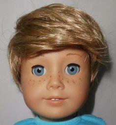 """American Girl Doll Size Wig 11-12"""" Boy Doll Wig"""