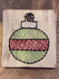 ornament {string art}