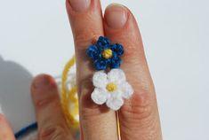 Swede as: Beskrivning: att virka en mini liten blomma (enkla!)