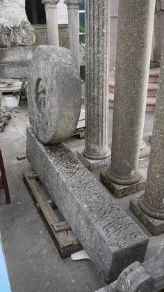 "Sculpture ""(Human) Stream"" in stone  - http://www.achillegrassi.com/en/project/scultura-human-stream-in-pietra/ - Superb example of a sculpture in white stone of Vicenza. Was made at the symposium held in Nantopietra Nanto (Vi) in 1999. Sculptor:  Ivana Pegan(Croazia)  Dimensions:  200cm x 140cm x 30cm"