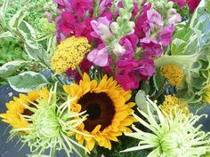 Floral arrangement for graduation party!