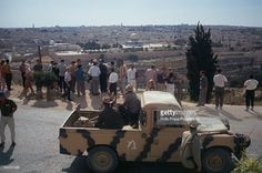 View of Israeli troops and members of the Israel Defense Forces and observers…